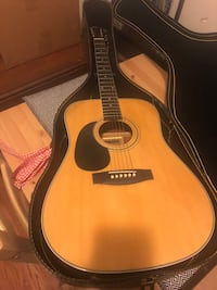 Hohner left handed Acoustic Guitar