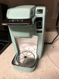 Turquoise and silver k15 classic  keurig coffeemaker San Jose, 95123
