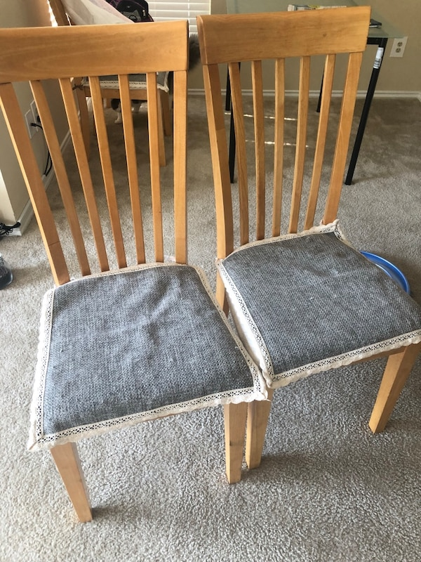 Two chairs for $15