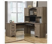 Desk with hutch: assembled/new  Allen, 75002