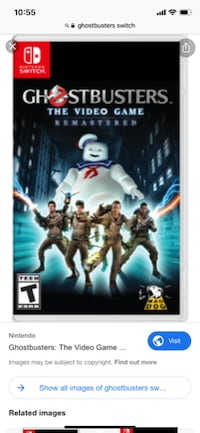 Ghostbusters Remastered for Nintendo Switch  SURREY