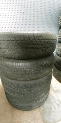 Set of tires 215/70/15 (2) michelin (2) kumho Mississauga, L4W 3C6