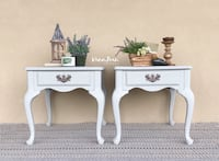 PAIR of End - Side Tables / Nightstands / Bedside Chests  Monroe, 28110