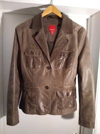 ESPRIT DISTRESSED LEATHER BLAZER/JACKET Toronto