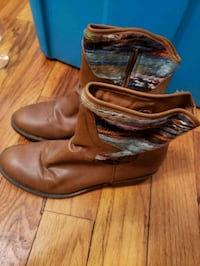pair of brown leather boots Alexandria, 22309