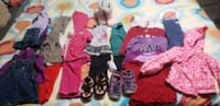 Size 24 months and size 2 lot of clothes.  Mississauga, L5J 4K9
