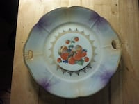 KS & T Silesia Plate with a  Fruit designed 10 inches in Excellent condition null