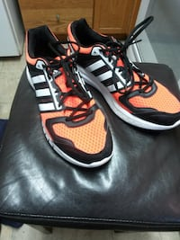 Adidas Triple Stripe, Day Glo Orange. Winnipeg