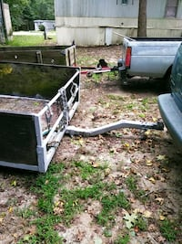 white and black utility trailer Greenville, 29617