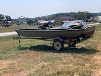 Boat , trailer , trolling motor,fish finder , nice set up . Cleveland, 30528