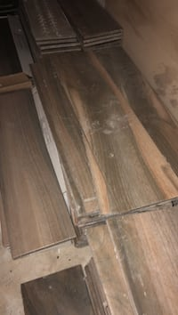 Bamboo wood looking tile.. 400 sq ft of it San Antonio, 78254