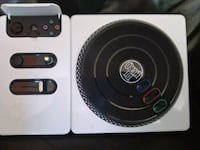 black DJ Hero game controller Socorro, 79927