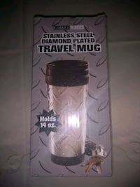 Stainless steel travel mug Sacramento, 95829