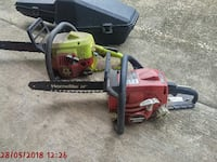 2 chainsaws 1 case ,read description Mobile