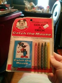 1970sMickeyMouse club catch the mouse color a deck