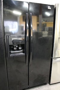 gray side by side door refrigerator with dispenser Woodbridge, 22191