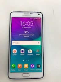 Beyaz samsung galaxy note 4
