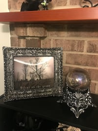 Halloween picture and crystal ball from At Home store Frederick, 21702