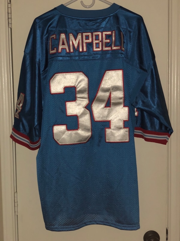 huge selection of 7ee1f 2cfba Used Earl Campbell Mitchell and Ness Jersey for sale in The ...