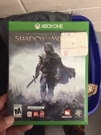 Xbox One Shadow of Mordor game case Takoma Park, 20912
