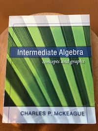 Intermediate Algebra: concepts and graphs  Cypress, 90630