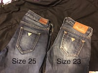 Ladies Guess & American Eagle Jeans 522 km