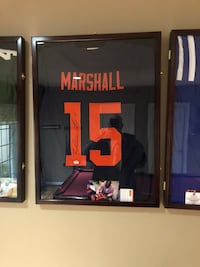 Brandon Marshall autograph jersey Centreville, 20121