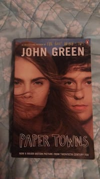 Paper Towns by John Green Manor, 78653