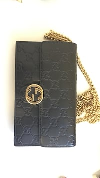 quilted monogram black Gucci leather crossbody bag Toronto, M5A 2B7