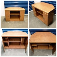 Brown Entertainment Console  Hyattsville, 20781