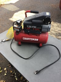 craftsman 125 psi air compressor hose not included  Oyster Bay, 11771