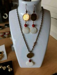 Penny Earrings and Necklace  Dufresne, R0A 0J0
