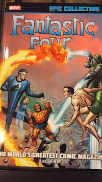Fantastic Four The World's Greatest Comic Magazine: Epic Collection vol.1 Berwyn Heights, 20740