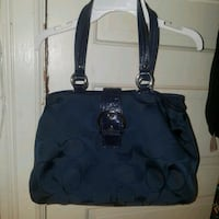 Navy blue coach purse Washington, 20003
