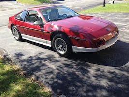 Pontiac - Fiero - 1987- This is a classic - serious buyers only. It's time for someone else to enjoy this car. It's fast and fun! $10,000.