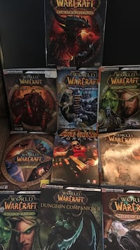 World of Warcraft- BradyGames- Official Strategy Guide- 10 Books Edwards, 93523