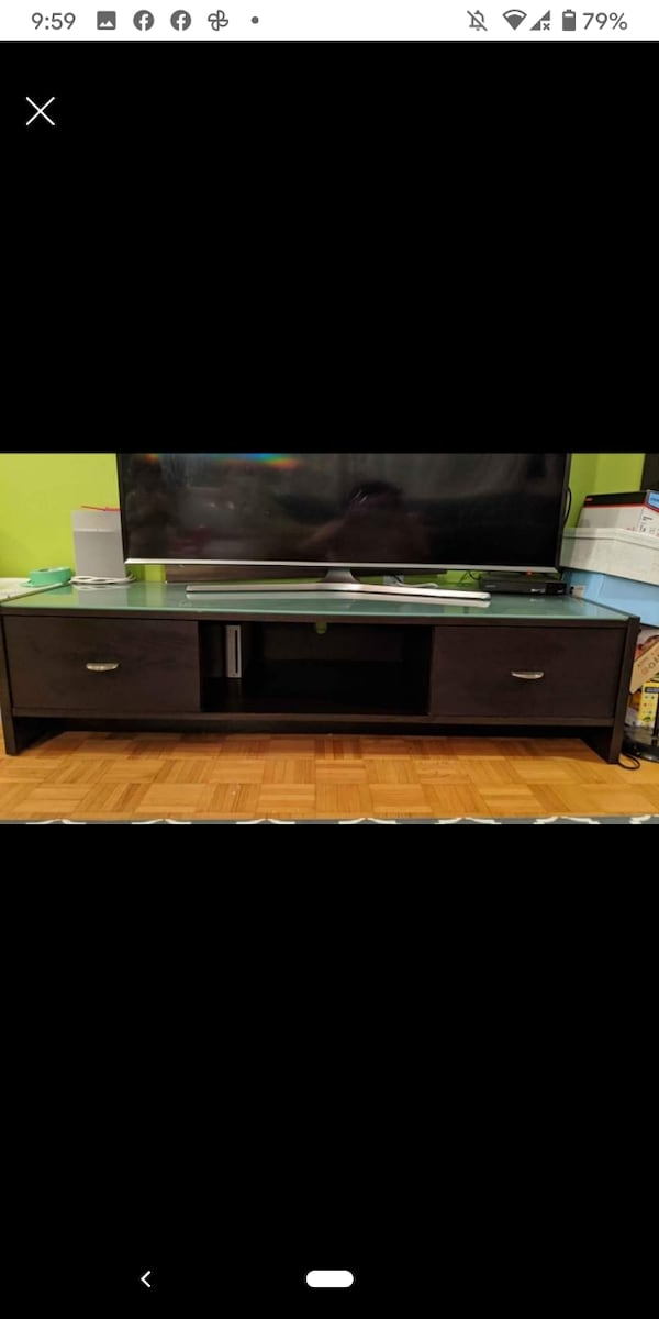 TV Stand and Ikea BESTA Storage Towers a1900607-1d9e-44ce-bd92-03c26932c933