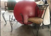 More than one item in this listing! Stuff that needs to go!! Table and chairs, large play table and trampoline. Summerhill, 15958