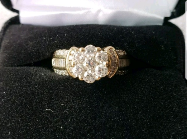 66f469359 Kay Jewelers 14k Bagt diamond bridal DEAL!!!! HomeFashion and Accessories  Douglasville