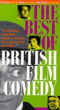 The Best of British Film Comedy (NEW, UNopened VHS) Toronto