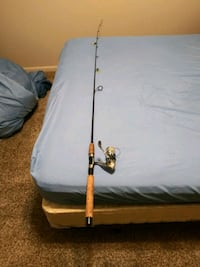 Lightning rod with Shakespeare Dimension reel Ankeny, 50023