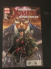 Wolverine and X-Men Alpha and Omega comic series Toronto, M3H 5Z7
