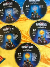 5 DVD disc  Robotech /  1 st Robotech War /The Macross Saga - Science fiction Anime Epic Alexandria, 22311