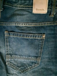 Mens Bench Jean's W-34 L-32 3132 km