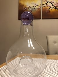 Brand new Wine carafe - clear glass