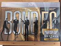 Bond 50: The complete 22 Film collection on Blueray Seattle, 98102