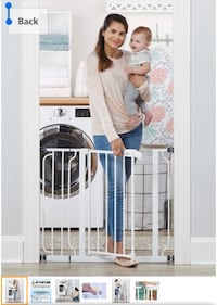 (Brand New) Regalo Easy Step 38.5-Inch Extra Wide Baby Gate