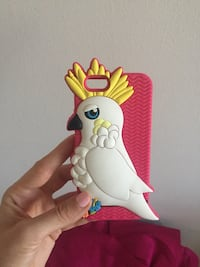 iPhone 6 parrot music case ! Press and hear parrot voice  London, N6H 4T6