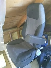 Kenworth air ride semi truck seat