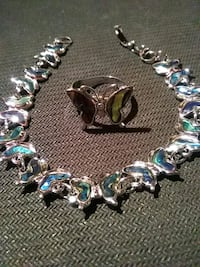 Abalone Bracelet & Ring Set Daly City
